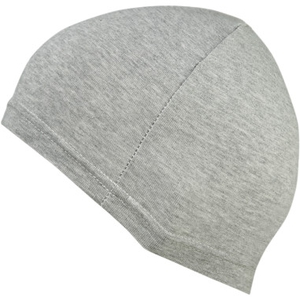 LIGHT GRAY STRETCH FLEECE SKULLCAP