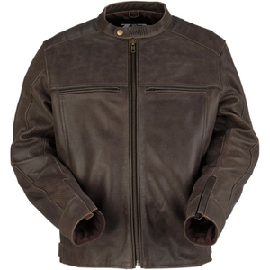 Indiana Leather Jacket Brown