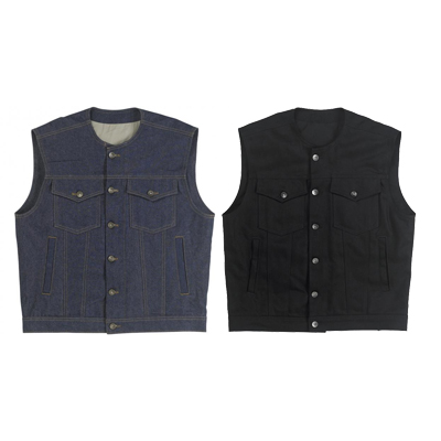 PRIME CUT VEST WITHOUT COLLAR