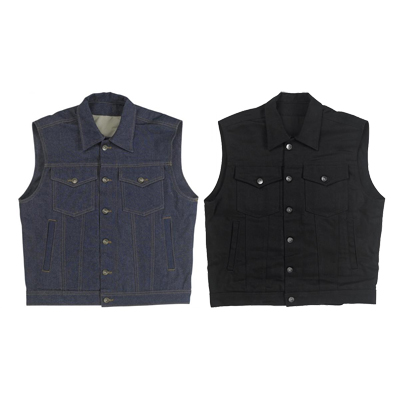 PRIME CUT VEST WITH COLLAR