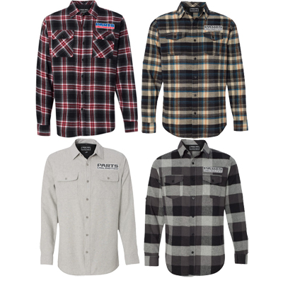 Parts Unlimited FLANNEL SHIRT