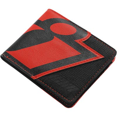 WALLET DOUBLE STACK BLACK