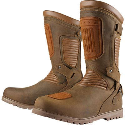 BROWN PREP BOOTS