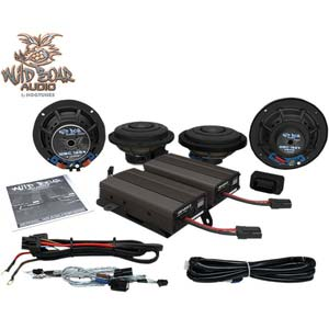 FRONT/REAR スピーカーキット&600-WATT アンプ
