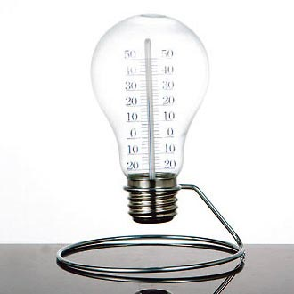 Bulb thermometer 温度計