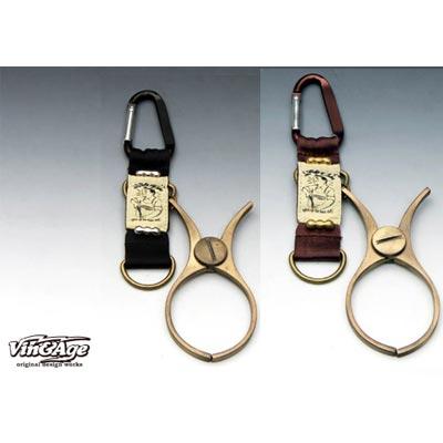 Vin&Age グローブホルダー ブラック/ブラウン