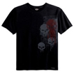 Short-Sleeve Tee Shirt with Shadow Skull