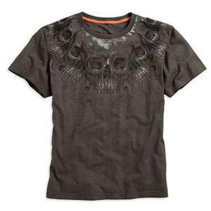 Short-Sleeve String of Skull