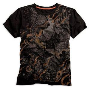 Short-Sleeve Eagle Fire