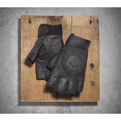 Layton Leather/Mesh Fingerless Gloves