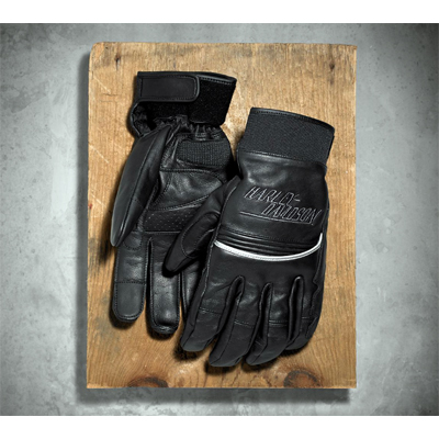 Paxton Reflective Leather Gloves