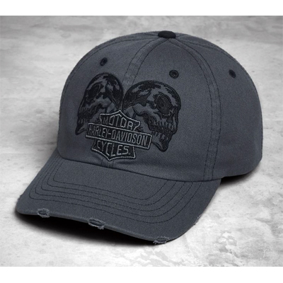 Mirrored Skull Graphic Cap