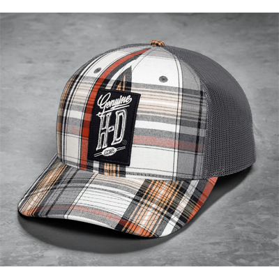 Plaid Trucker Cap