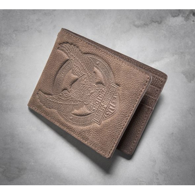 Eagle Distressed Wallet