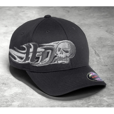 Side Skull Stretch Cap