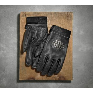 Virtue Distressed Leather Gloves