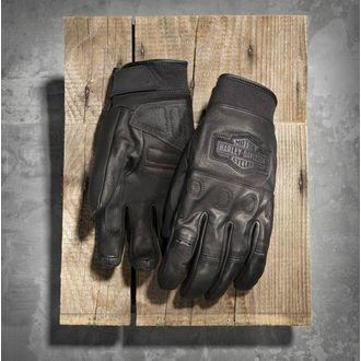 Circuit Full-Finger Leather Gloves