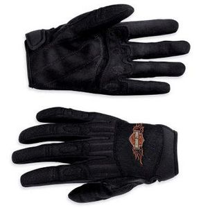Ride Ready Full-Finger Mesh Gloves