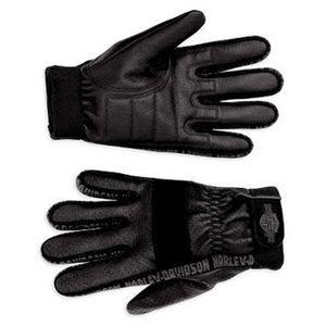 Leather Airflow Full-Finger Gloves