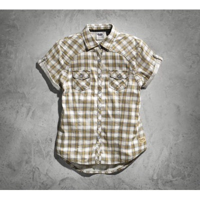 Genuine Short Sleeve Plaid Shirt