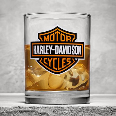 Logo Double Old Fashioned Glass