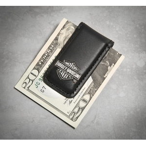 Bar & Shield Logo Money Clip