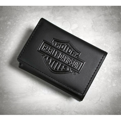 Bar & Shield Logo Tri-Fold Wallet