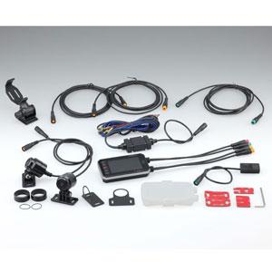 オートバイ専用 ドライブレコーダー 1080J デュアルカメラ