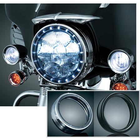 LED HALO ヘッドライトトリムリング