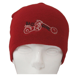 Knit Cap Bad Girl Red