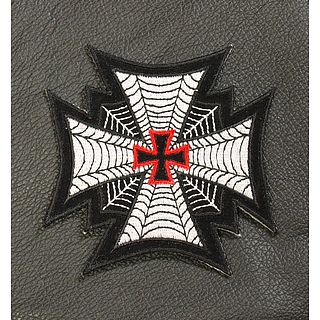 Spider Web Cross Patch
