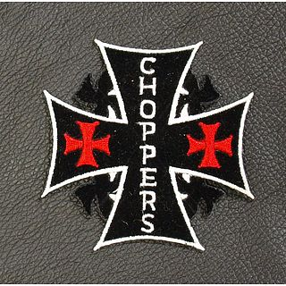 Chopper Cross Patch
