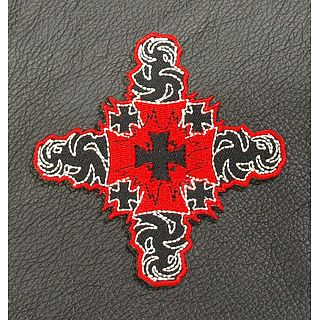 Tattoo Cross Patch
