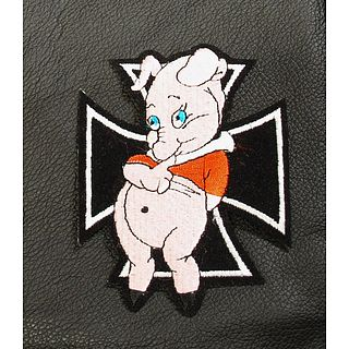 Iron Cross Pig Patch