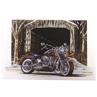 Harley-Davidson X'masCard Bridge