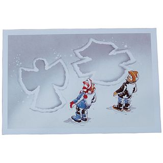 Harley-Davidson X'masCard Snow Angel