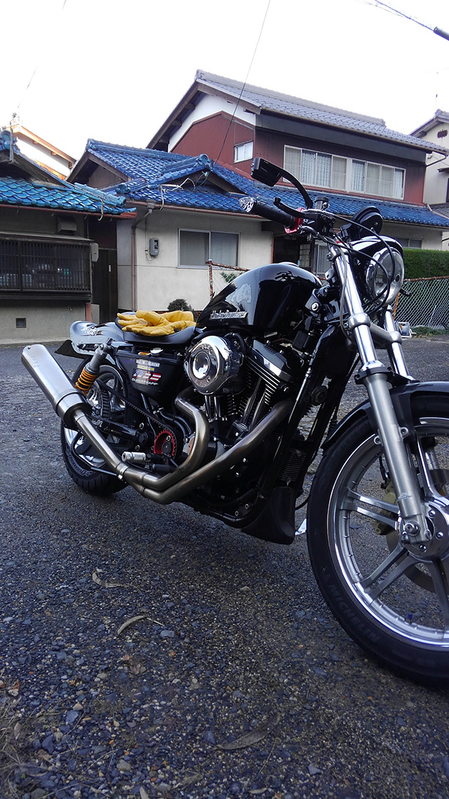 ハーレー XL1200L カスタム08