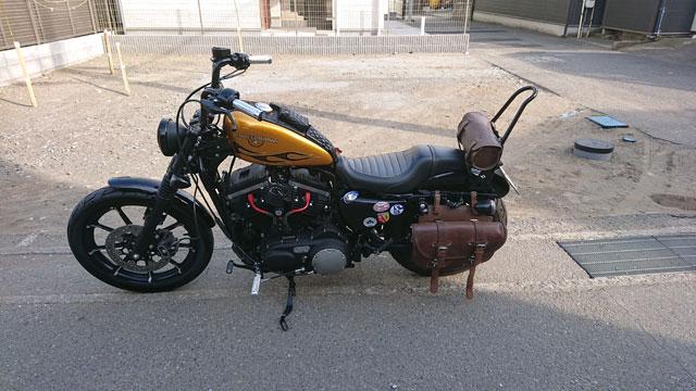 ハーレー XL883N カスタム03
