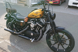 ハーレー XL883N カスタム