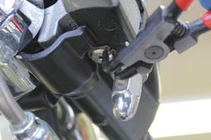 ブレーキ&クラッチレバーの交換