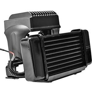 エンジンの冷却を加速させるオイルクーラー